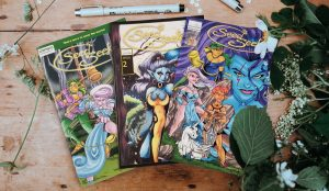 Seed Seekers Comic Book by Martha Schwartz Vol 2 Issue 1-3 Set