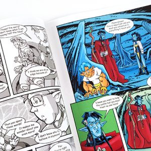 Seed Seekers Comic Book Volume 2 - Issue 3 | Story and Inside Art by Martha Schwartz