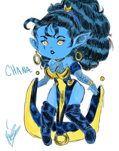 Alyssa McLaurin's Chana